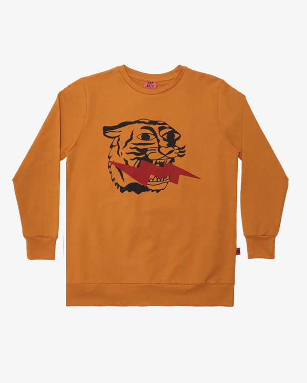 BANDITS by Band of Boys Lightning Tiger Fleece Classic Crew