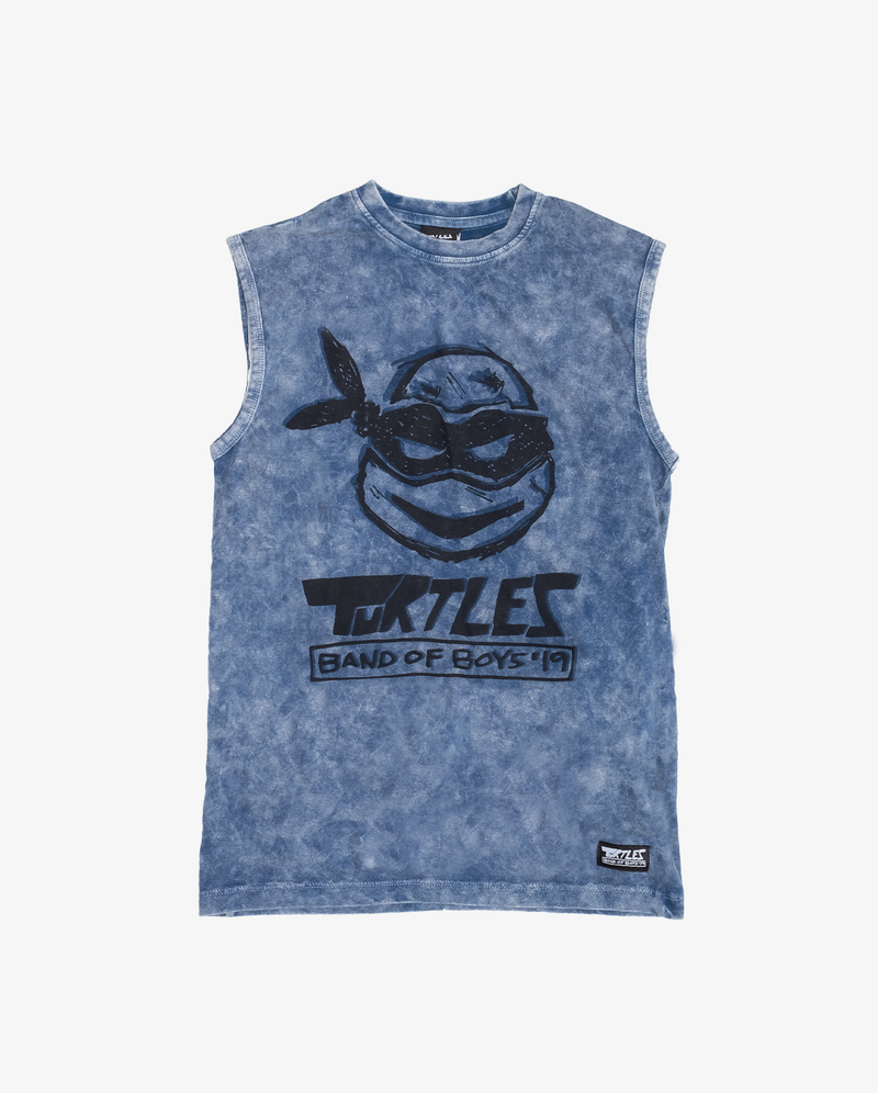 Band of Boys X Teenage Mutant Ninja Turtles Collab | Leo Muscle Tank
