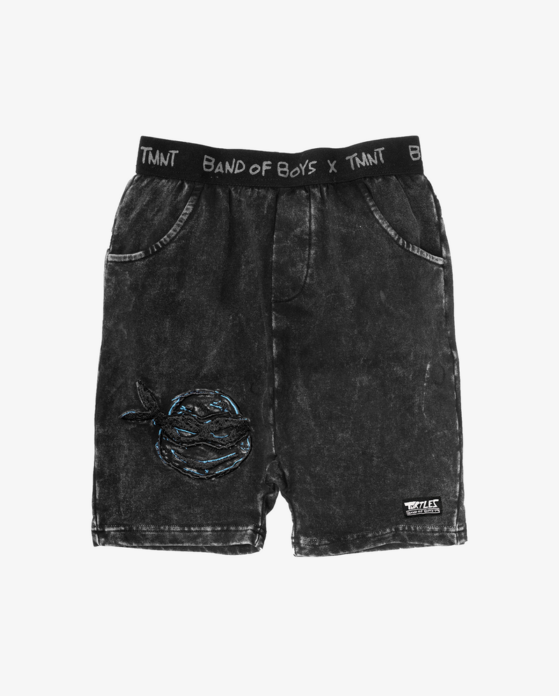 Band of Boys X Teenage Mutant Ninja Turtles Collab | Leo Track shorts
