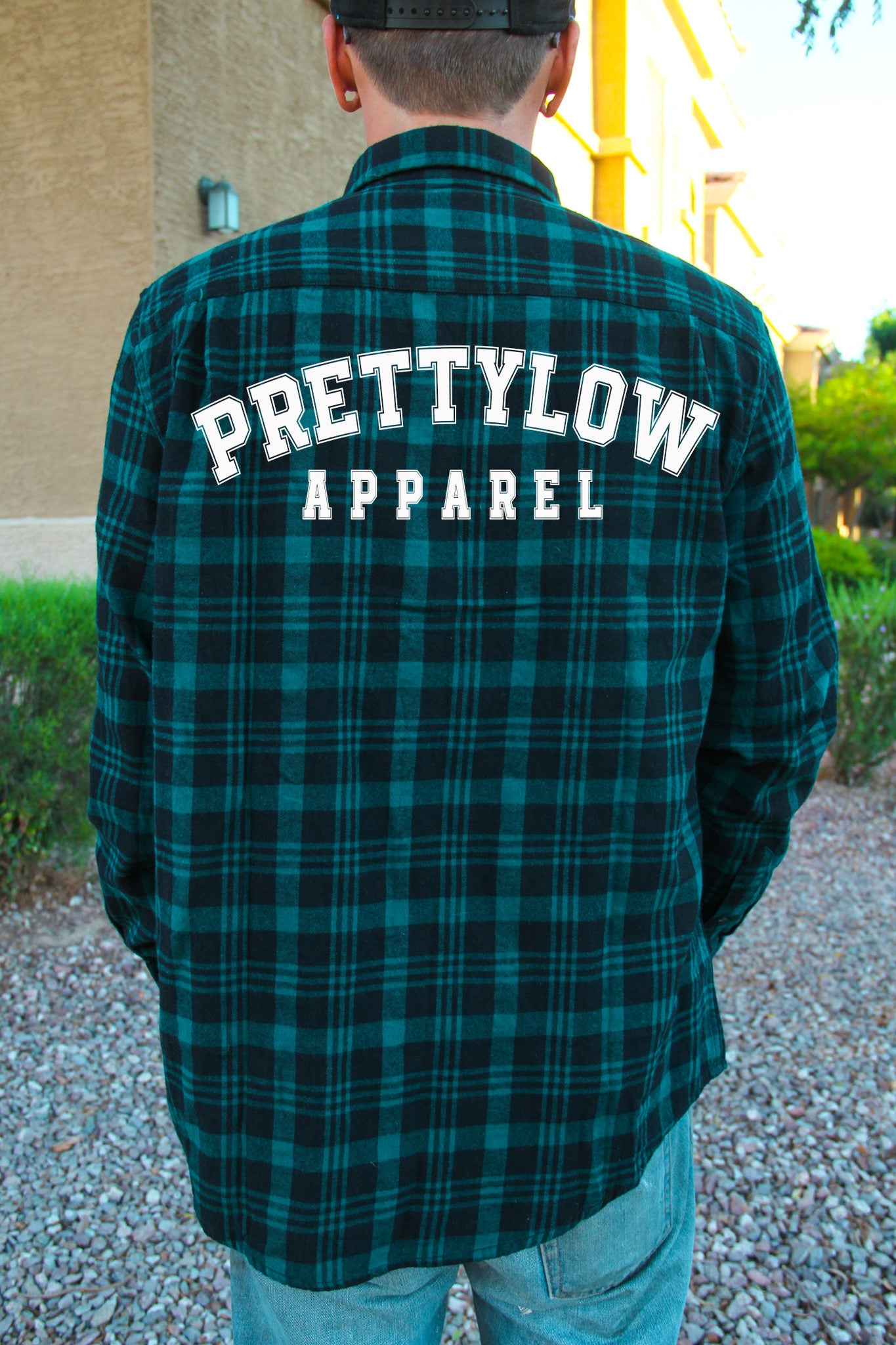 Pretty Low Apparel Flannel Green