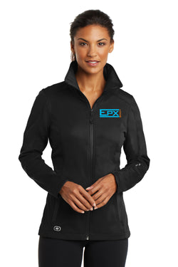 Women's EPX Body Ogio Soft Shell Jacket - Color Logo