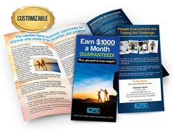 EPX Body Business Opportunity Brochures - Customized Large Pack