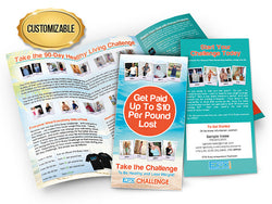 EPX Body Challenge Brochures - Customized Large Pack