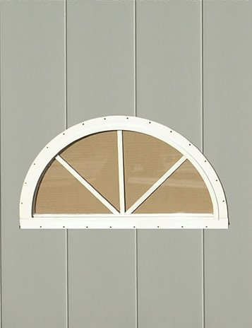 Half Round Playhouse Window