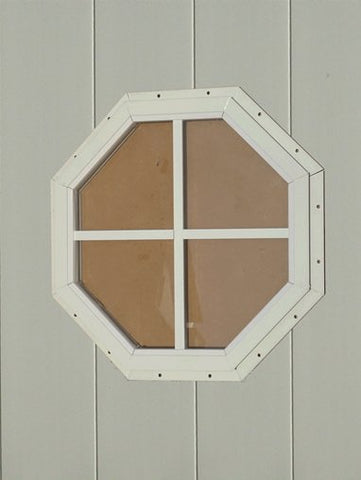 Octagon Playhouse Window