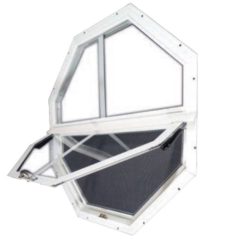 Octagon Tilt-Out Shed Window