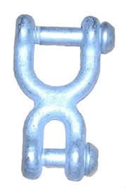 Heavy Duty H-Shackle (Double Shackle)
