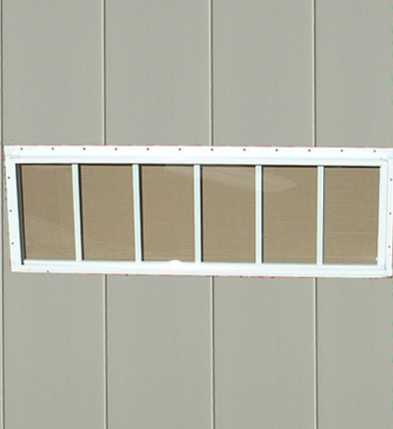 Transom Shed Windows