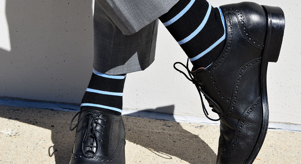 A Guide to Wearing Patterned Men's Socks