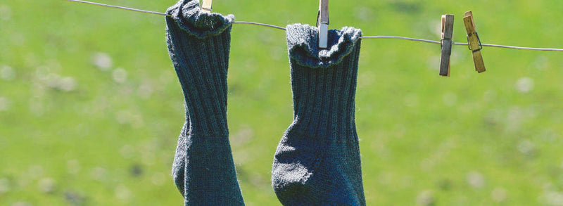 How to Wash Wool Socks