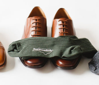 Matching Your Dress Socks, Shoes and Pants