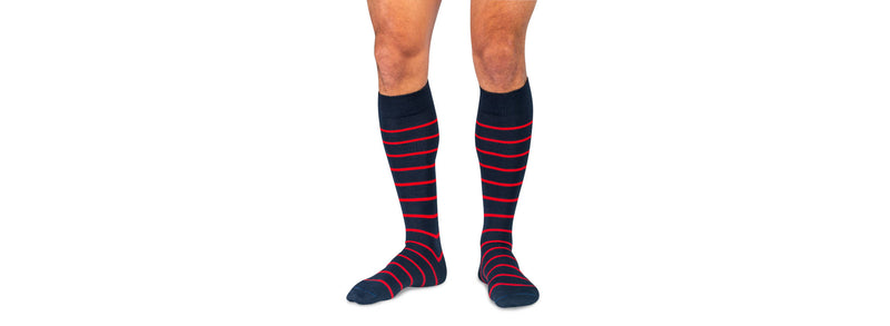 Over the Calf Dress Socks that Stay Up