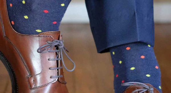 Improve Your Style with Patterned Wool Dress Socks