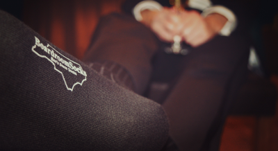Stamped Boardroom Socks