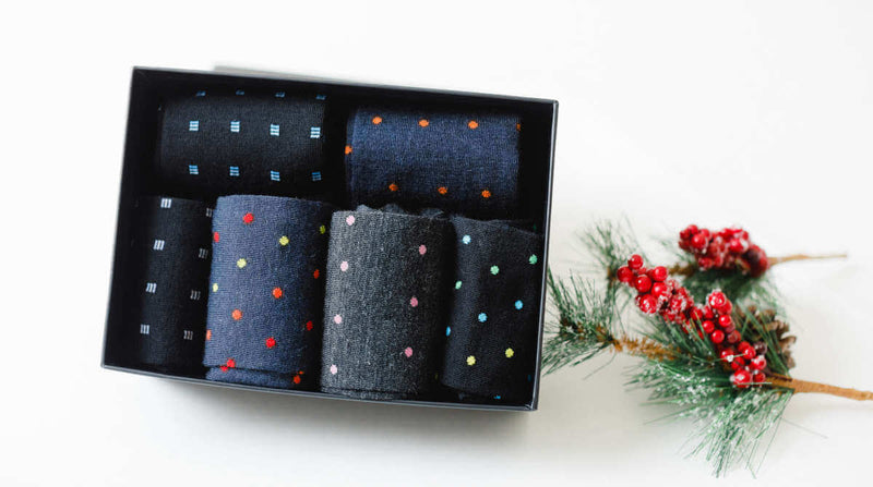 Men's Dress Socks Gift Set