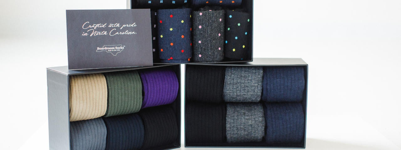 Gift Boxes of Dress Socks