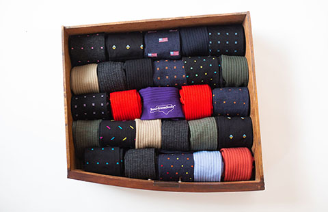 How to Fold and Organize Your Socks