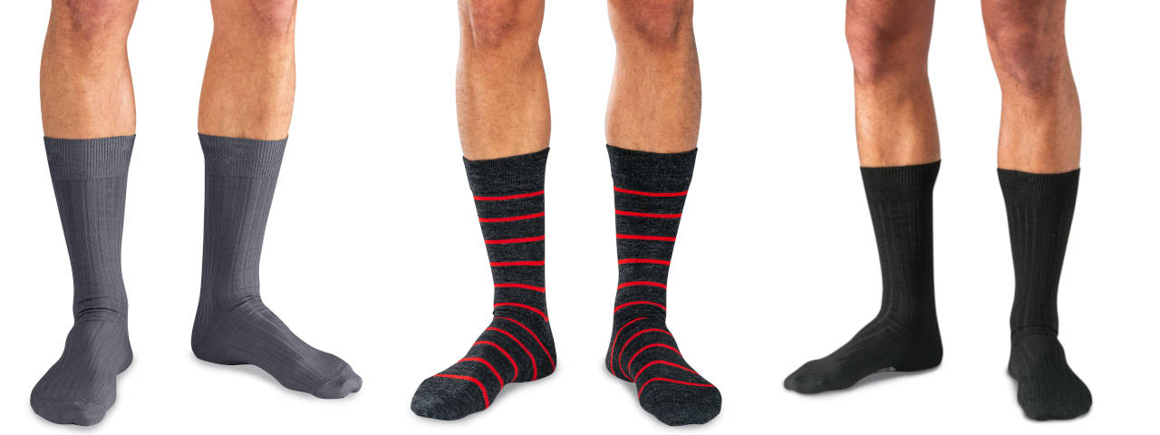 Mid Calf Dress Socks
