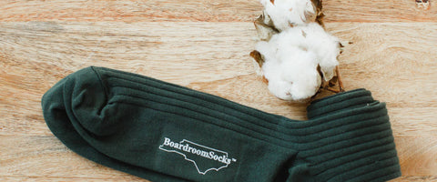 Pima Cotton Dress Socks