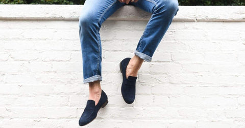 no show socks with loafers and jeans