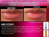 Natural Injection Lip Plumping Gloss Extreme Rebuilding Lip Plumper That Works Clear Color - DevotedThings