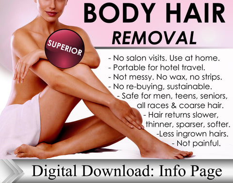 Permanent Hair Removal At Home Best For Legs Methods Painless Root Hair Removal - DevotedThings