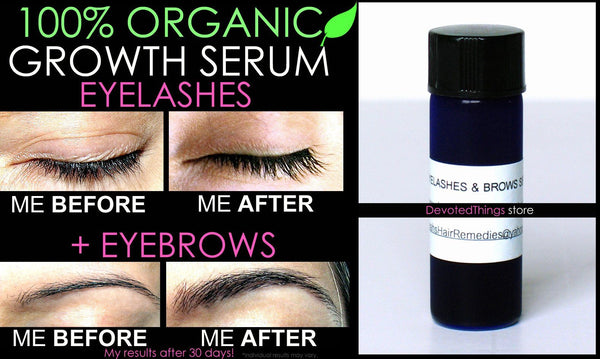 5 Before and After Best Organic Grow Eyelashes and ...