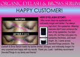 Organic Eyelash Growth Serum and Eyebrow Growth Serum Energizing 2 in 1 Product - DevotedThings