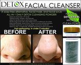 Charcoal Detox Facial Cleanser Blackhead Remover Pore Scrubber Pore Shrinking Mask and Scrub - DevotedThings