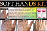 Hand And Legs Kit - Bedtime Hands And Legs Beauty Natural Chemical Free Skin Care Kit For Women Set Of 4