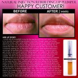 Lip Plumper, Plumps Shallow Areas On Lower Face, Improves Wrinkles - Natural Injection Lip Plumping Gloss Extreme Rebuilding Lip Plumper That Works Clear Color