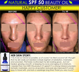 Moisturizer, SPF Sunscreen - Natural SPF 50 Face Moisturizer Beauty Oil For Skin Lightening, Oily Skin Oil Control