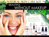 Natural Skin Care Kit Beautiful Without Makeup - Beautiful Without Makeup Natural Skin Care Kit For Facial Features Enhancement Basic Set Of 7