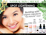 Natural Skin Care Kit For Acne Scar Spot Lightening and Acne Care Complete Set of 6 - DevotedThings