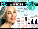 Skin Care Kit For Anti Aging Wrinkles - Natural Skin Care Kit Anti Aging For Wrinkles Anti Wrinkle Complete Set Of 6