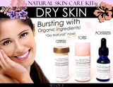 Natural Skin Care Kit For Dry Skin Set of 3 - DevotedThings