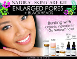Natural Skin Care Kit For Enlarged Pores and Blackheads Pore Refining Complete Set of 6 - DevotedThings