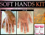 Natural Soft Hands Kit Dry Cracked Hands Repair Hand Scrub and Healing Oil for Men and Women - DevotedThings