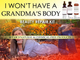 Women Over 50 Grandma Body Kit - Natural Body Kit Women Over 50 Grandma Varicose Veins Cellulite Breast Firming Set Of 3