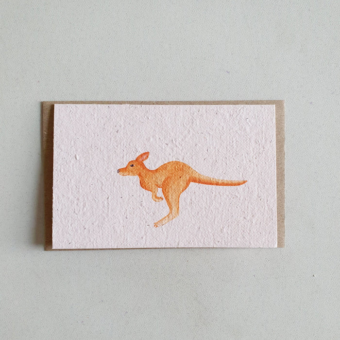 The 'Kangaroo' Horizontal Card (that grows)