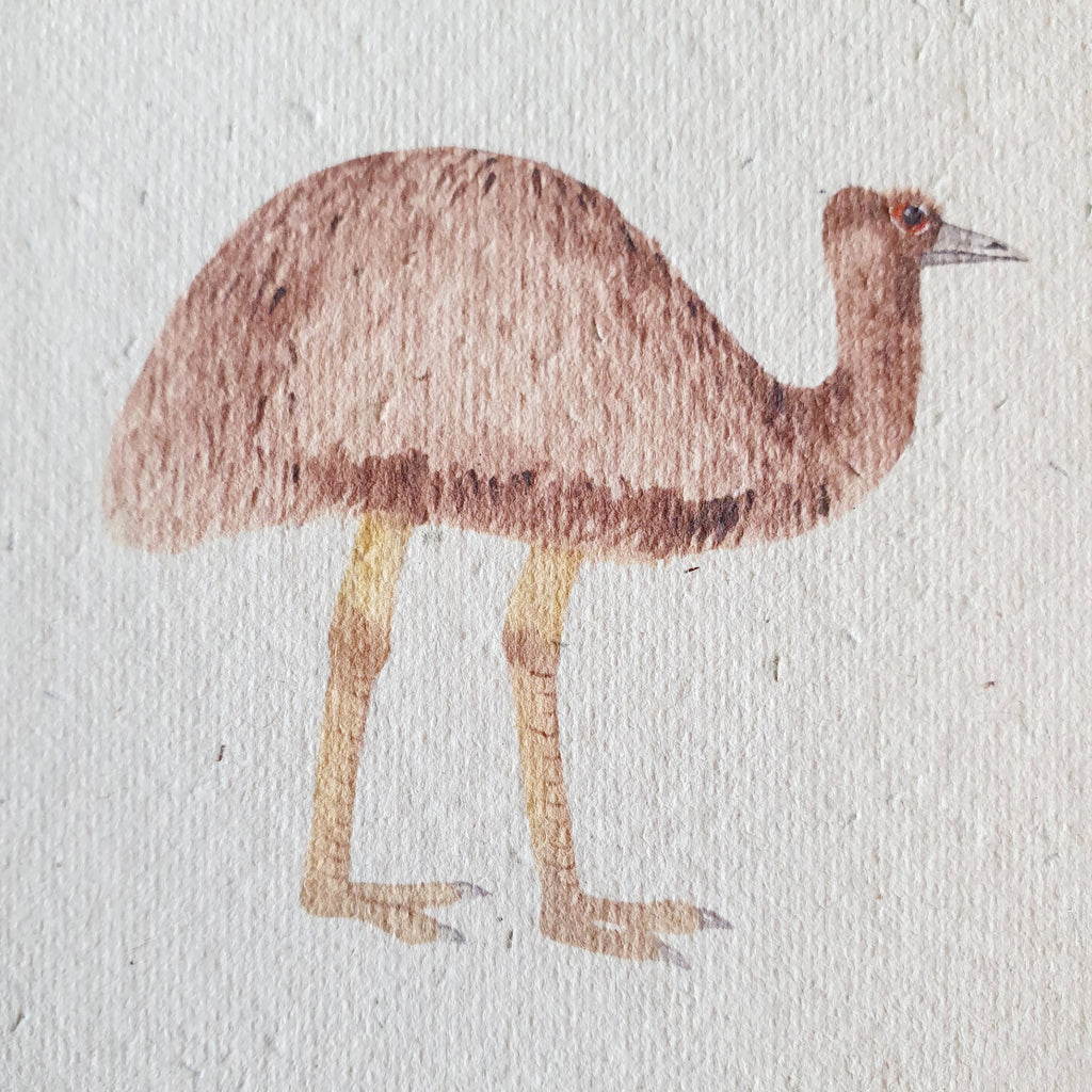 The 'Emu' Card (that grows)