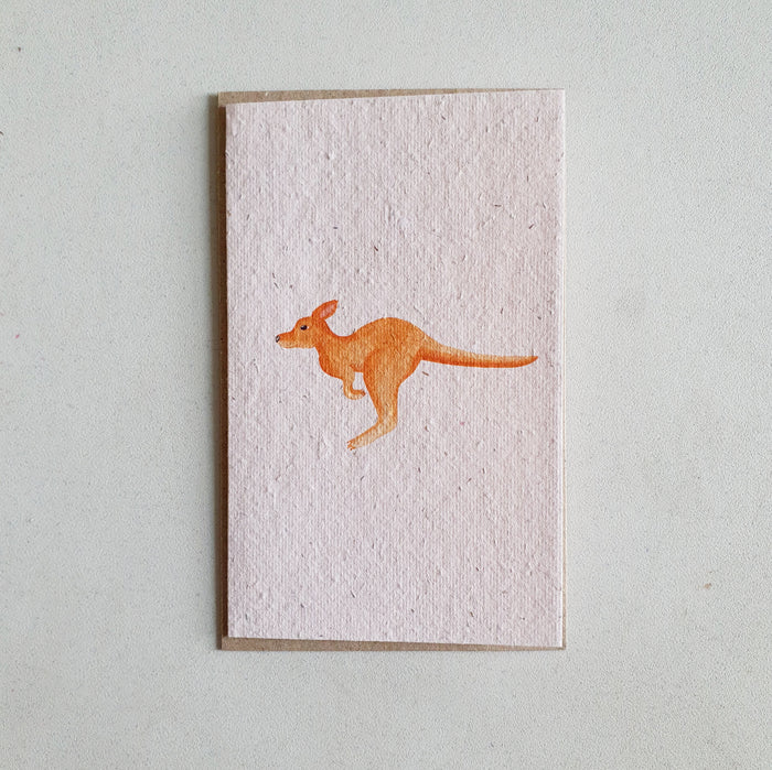 The 'Kangaroo' Vertical Card (that grows)