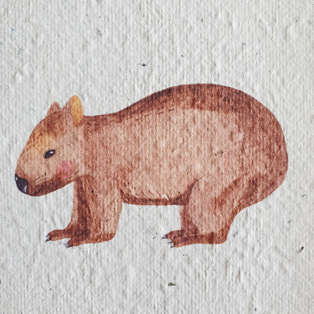 The 'Wombat' Card (that grows)