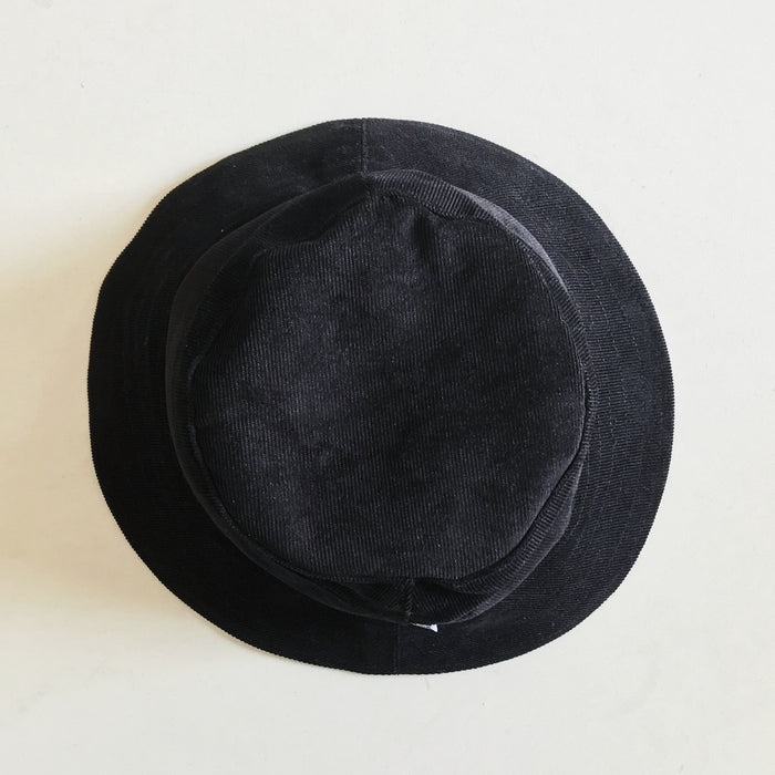 The Black Corduroy BeeKeeper Bucket Hats