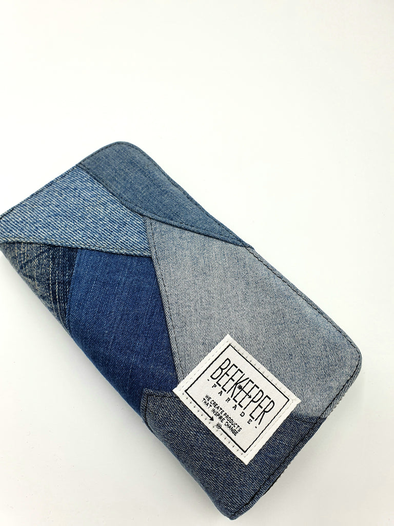 The Denim Drive BeeKeeper Purse