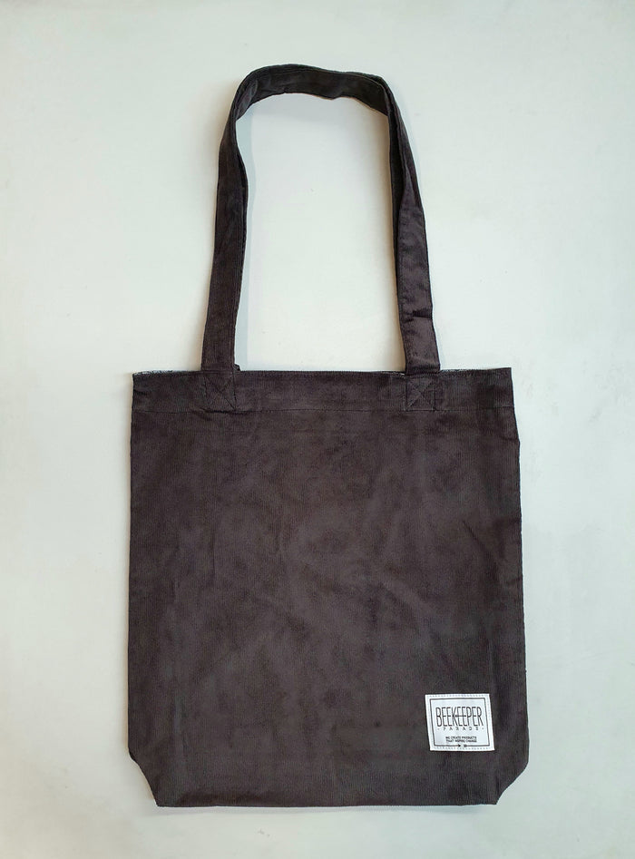 The Panda Grey Tote (Large)
