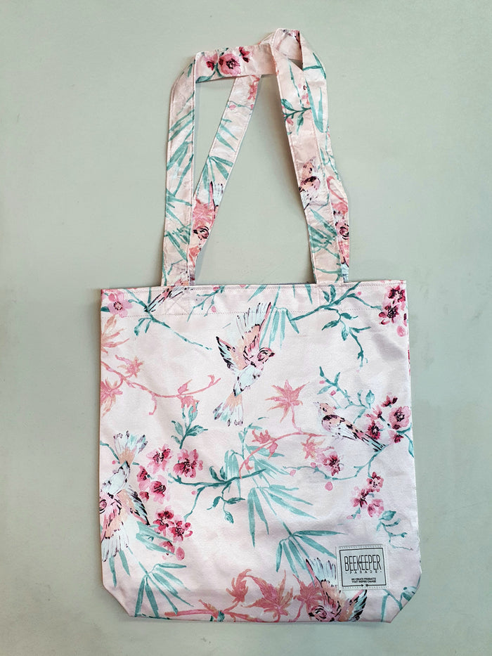The Pink Bird Tote (Large)