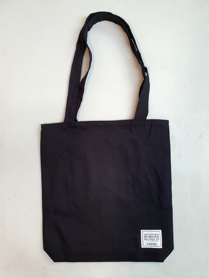 [SALE 10% OFF] The Black Canvass Tote (Large)