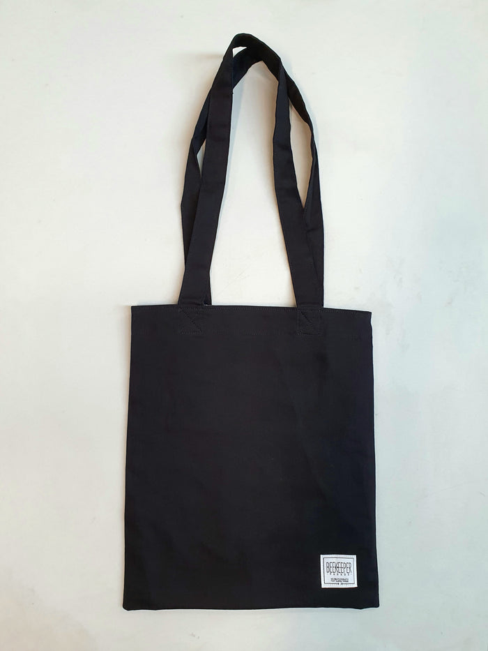 [SALE 10% OFF] The Black Canvass Tote (Medium)