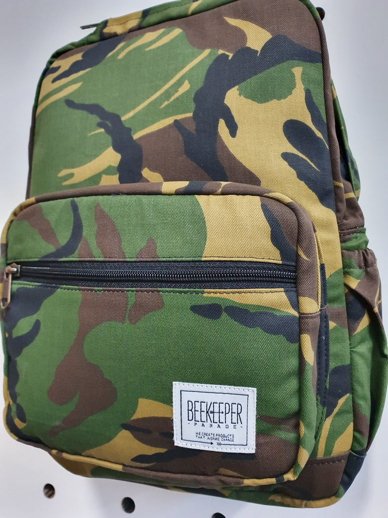 The Camouflage Mini-Royal BeeKeeper Backpack